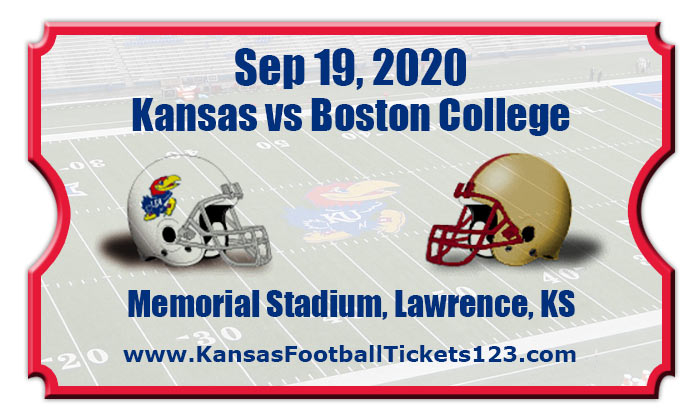 Kansas Jayhawks vs Boston College Eagles Football Tickets ...